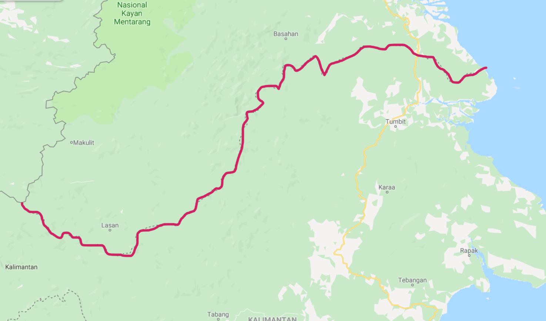 Geografis Kalimantan Utara